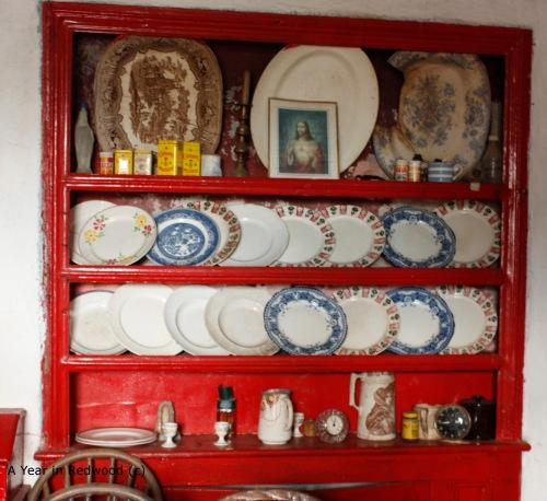 A typical Irish Dresser
