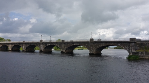 Bridge over Shannon River at Banagher