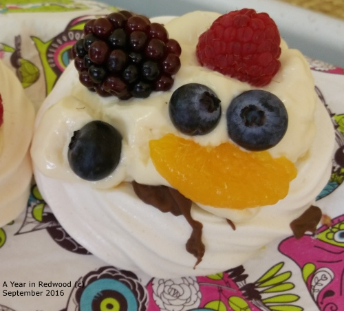 Smiley face Meringue
