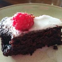 Dairy & Egg Free Chocolate Cake
