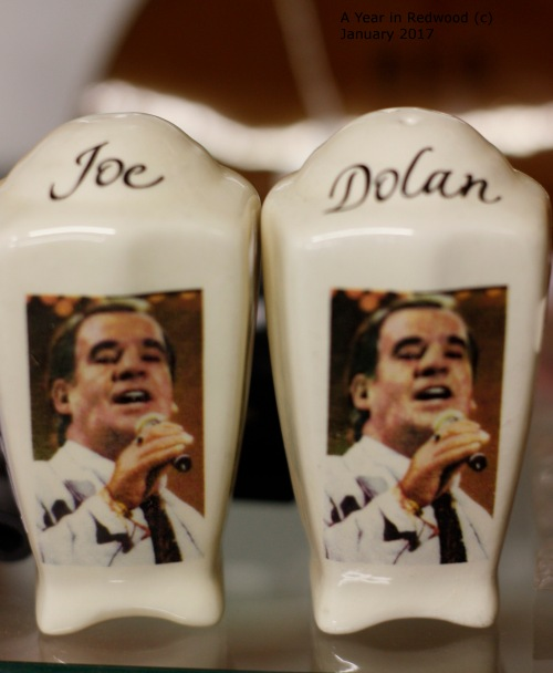 Joe Dolan salt and pepper set