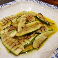 Marinated Courgettes