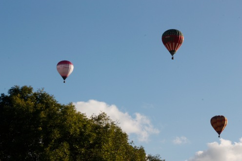 They are up, up and away!
