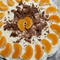 Cointreau & Orange Cheesecake